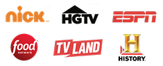 nick | Food Network | ESPN | History Channel