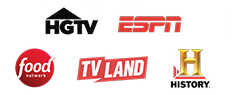 Food Network | ESPN | History Channel