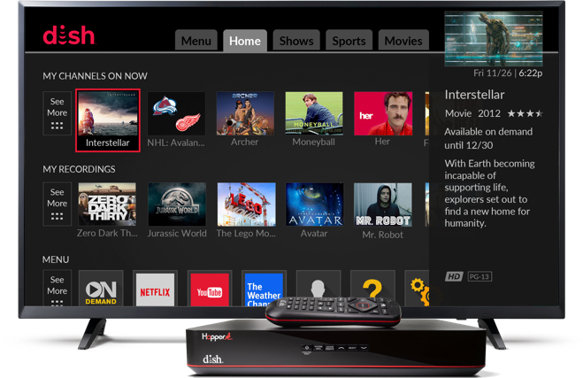 On Demand Movies and TV | DVR | DISH Authorized Retailer
